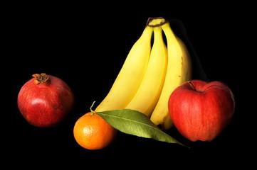 still life of fresh fruits