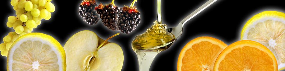 Frutta e miele