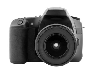 Digital camera with clipping path.