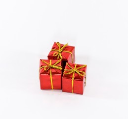 Red Boxes Of Gifts