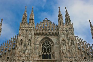 Il Duomo di Milano - Dettaglio della facciata