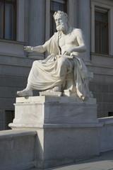 escultura del parlamento austriaco