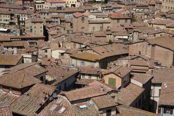 Sienna rooftops