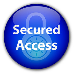 """""""Secured Access"""" button"""
