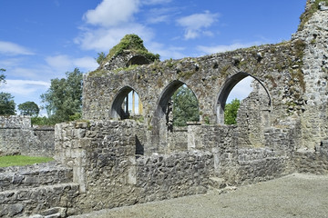 old irish abbey