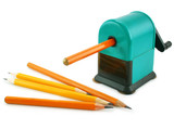 Grinding manual machining mechanical pencil sharpener and pencil
