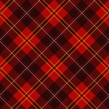 Scottish plaid poster