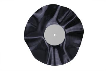 Warped Vinyl Record