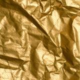 wrinkled golden paper poster