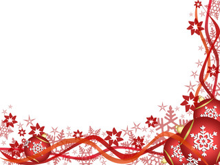 Red & White Christmas ornaments # 2