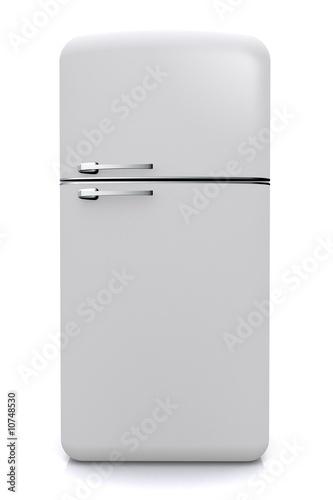 Leinwanddruck Bild Nevera fridge Frontal
