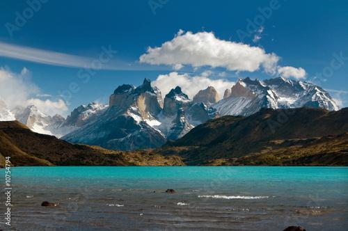 Papiers peints Amérique du Sud Torres del Paine mountain range, Patagonia