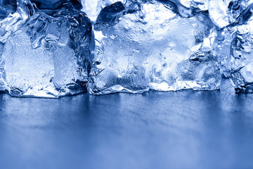 fresh ice background