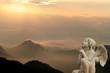 la prière de l'ange aux sommets