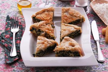 Torta vegetariana - Contorni della Toscana