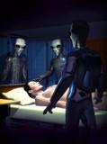 Aliens healing poster