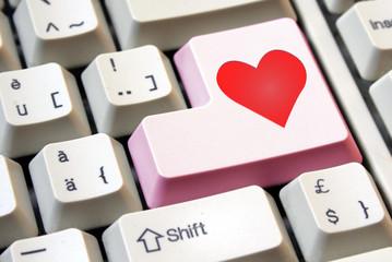 Love and keyboard.
