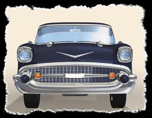 Old car 3d