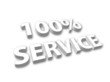 """100% Service"" in 3D"