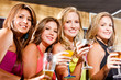 girl friends in a bar