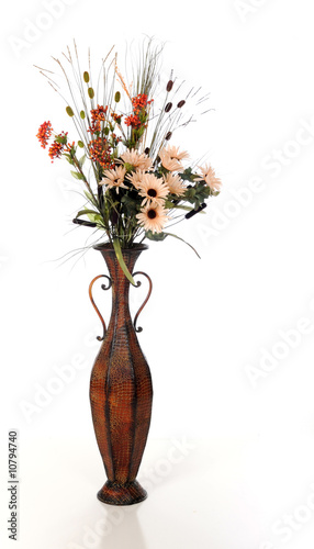 Tall Vase of Foliage