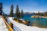 Fototapety Lake Tahoe in winter