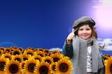 Sonnenblumenfeld - Fine Art prints