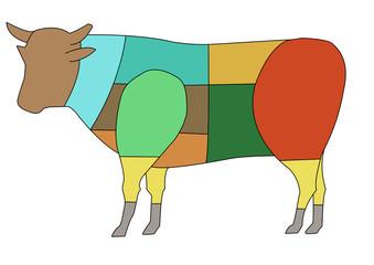 parti del bovino
