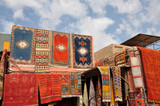 Moroccan Carpets for sale in Marrakech poster