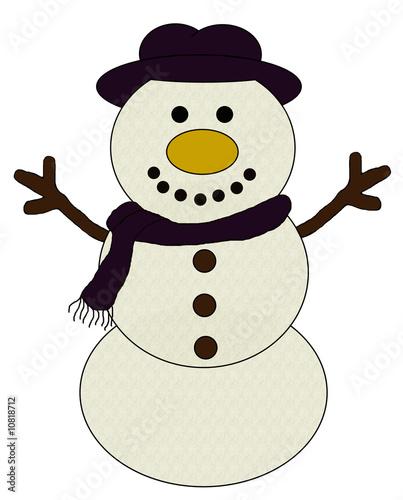 Cartoon Snowman Images. Snowman (No:4) Cartoon