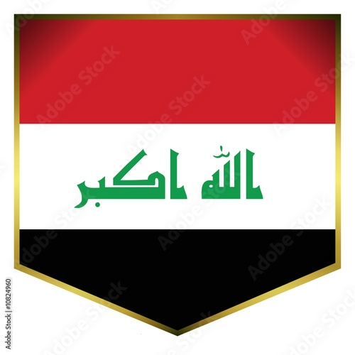 drapeau ecusson irak iraq flag