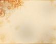 Grunge Hintergrund mit floralen Elementen
