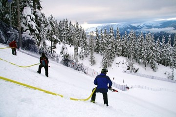 Whistler - Canada - breezing the slope
