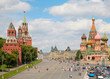 View of Kremlin and St. Basil's cathedral