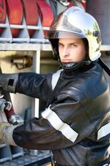 portrait sapeur pompier français