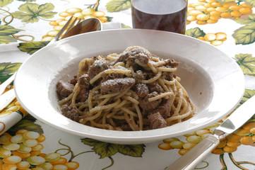 Bigoli coi rovinazzi - Primi piatti del Veneto
