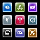 Fototapety Color screen web icons, set 20