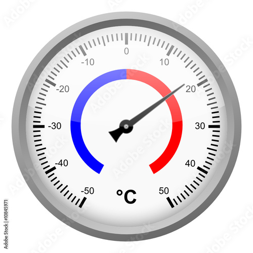 thermometer (outdoor) - vector