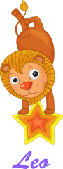 Leo star sign from series 1