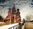 Fototapeta Kreml - Moskwa - Starożytna Budowla