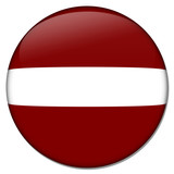 lettland latvia button poster