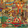 roleta: vintage egyptian abstraction
