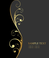 design golden background