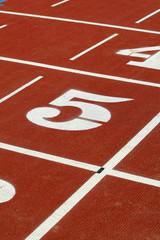 Atletismo Tartan numero 5