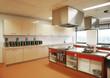 Leinwandbild Motiv industrial kitchen