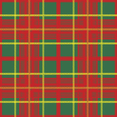 Traditional Scottish plaid seamless pattern
