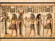 Fototapeten,isis,osiris,ägypten,papyrus