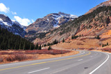 Spectacular Colorado mountain road