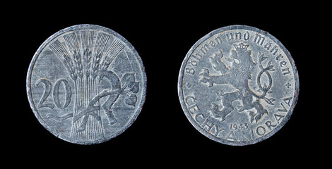 Checz 1943 year coin