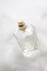 Perfume bottle, close-up